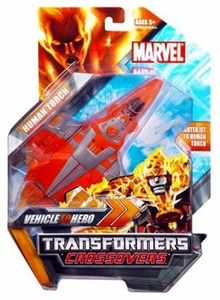 Marvel Transformers Crossovers Hybrid Action Figure Human Torch