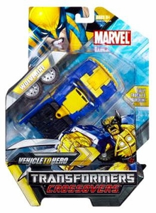 Marvel Transformers Crossovers Hybrid Action Figure Wolverine [Blue Costume]
