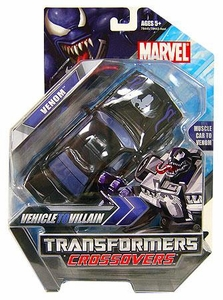 Marvel Transformers Crossovers Hybrid Action Figure Venom