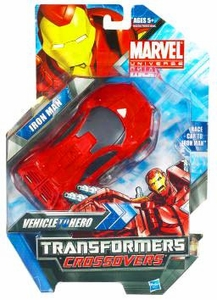 Marvel Transformers Crossovers Hybrid Action Figure Iron Man [Sports Car]