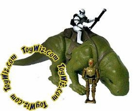 Star Wars Action Fleet Loose Dewback Incomplete
