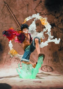 One Piece Figuarts ZERO Statue Luffy [Battle Version] Pre-Order ships April