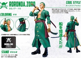 One Piece Figuarts ZERO Statue Roronoa Zoro [New World]