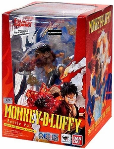 Bandai Tamashii Nations One Piece Figuarts ZERO Figure Monkey D. Luffy [Battle Version]
