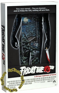 McFarlane Toys Pop Culture Masterworks 3-D Movie Poster Friday the 13th