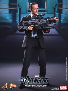 Hot Toys Avengers Movie Exclusive 1/6 Scale Collectible Figure Phil Coulson