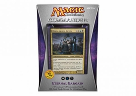 Magic the Gathering Commander EDH 2013 Deck Eternal Bargain [White, Blue & Black]