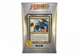 Magic the Gathering Commander EDH 2013 Deck Evasive Maneuvers [Green, White & Blue]