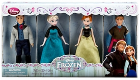 Disney Frozen Exclusive Mini Doll Set 4-Pack [Kristoff, Anna, Elsa, Hans] New!