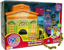 Dora the Explorer Let's Go Adventure Schoolhouse Damaged Package, Mint Contents!