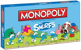Monopoly Board Game Set The Smurfs Collector's Edition