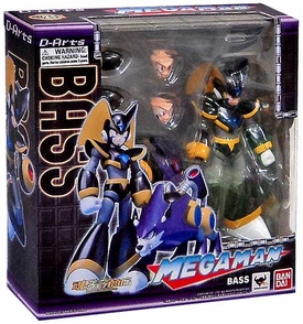 Mega Man D-Arts Action Figure Bass & Treble