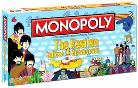 Monopoly Board Game Set The Beatles Yellow Submarine Pre-Order ships July