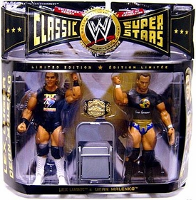 WWE Jakks Pacific Wrestling Classic Superstars Exclusive Series 7 Action Figure 2-Pack Lex Luger & Dean Malenko