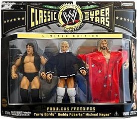 WWE Wrestling Classic Superstars Exclusive Action Figure 3-Pack Fabulous Freebirds [Terry Gordy, Buddy Roberts & Michael Hayes]