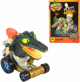 Monster 500 Trading Card & Small Car Figure Crocpot