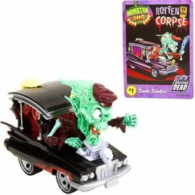 Monster 500 Trading Card & Large Car Figure Zoom Zombie