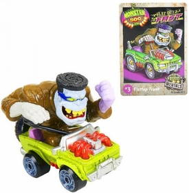Monster 500 Trading Card & Large Car Figure Flattop Frank