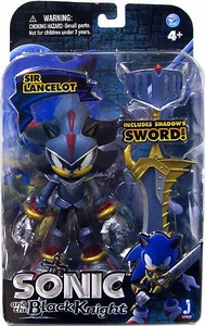 Sonic & Black Knight 5 Inch Metallic Action Figure Sir Lancelot Shadow [Blue Armor]