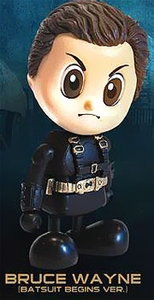Batman Begins Hot Toys 3 Inch Mini Cosbaby Figure Bruce Wayne [Batsuit Begins Version]