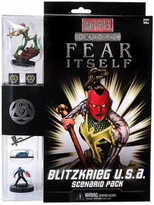 Marvel HeroClix Fear Itself Scenario Pack Blitzkrieg U.S.A.