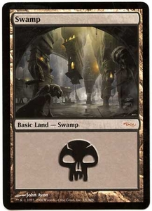 Magic the Gathering Arena Promo Card #3 Swamp