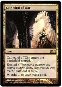 Magic the Gathering Other Promo Card #221 Cathedral of War [Buy-a-Box Promo]