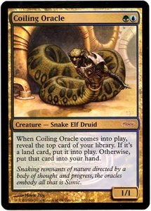 Magic the Gathering Other Promo Card #8 Coiling Oracle [Player Rewards]