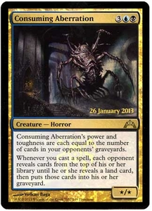 Magic the Gathering Prerelease & Release Promo Card #152 Consuming Aberration [PreRelease Promo]