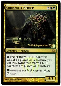 Magic the Gathering Prerelease & Release Promo Card #152 Corpsejack Menace [PreRelease Promo]