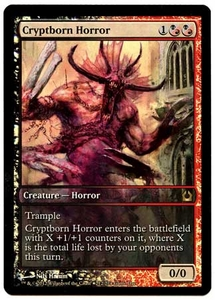 Magic the Gathering Other Promo Card #212 Cryptborn Horror [Game Day Promo]