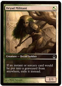 Magic the Gathering Other Promo Card #214 Dryad Militant [Game Day Promo]