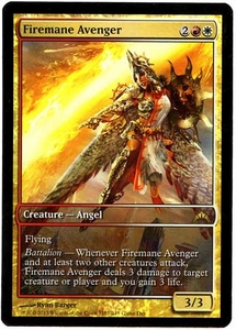 Magic the Gathering Other Promo Card #163 Firemane Avenger [Game Day Promo]