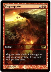 Magic the Gathering Other Promo Card #140 Magmaquake [Game Day Promo]