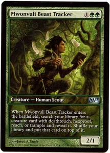 Magic the Gathering Other Promo Card #177 Mwonvuli Beast Tracker [Game Day Promo]