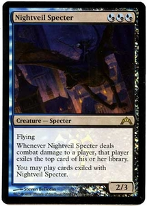 Magic the Gathering Other Promo Card #222 Nightveil Specter [Buy-a-Box Promo]