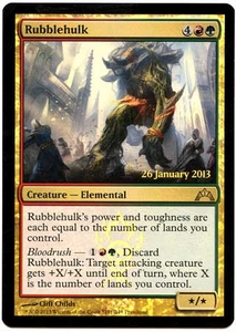Magic the Gathering Prerelease & Release Promo Card #191 Rubblehulk [PreRelease Promo]