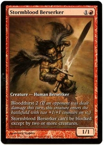 Magic the Gathering Other Promo Card #79 Stormblood Berserker [Game Day Promo]