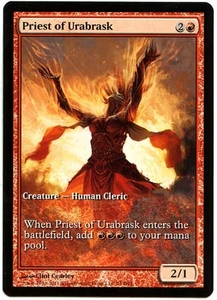 Magic the Gathering Other Promo Card #74 Priest of Urabrask [Game Day Promo]