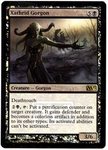 Magic the Gathering Prerelease & Release Promo Card #118 Xathrid Gorgon [PreRelease Promo]