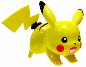 Pokemon TOMY LOOSE 2 Inch Basic Figure Pikachu [Includes Pokedex ID Tag!]