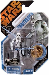 Star Wars 30th Anniversary Saga 2007 Action Figure Wave 1 #09 Ultimate Galactic Hunt Stormtrooper [McQuarrie Concept]
