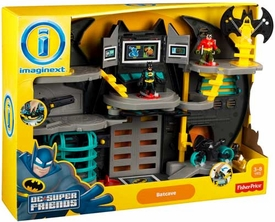 Imaginext DC Super Friends Deluxe Playset Batcave