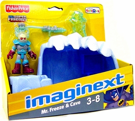 Imaginext DC Super Friends Mr. Freeze & Ice Cave