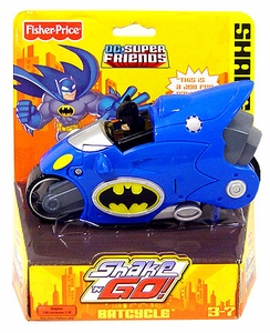 Imaginext DC Super Friends Shake 'N Go Batcycle