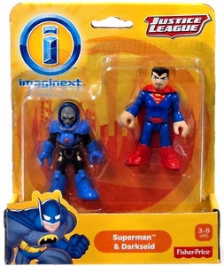 Imaginext DC Justice League Exclusive Figure 2-Pack Superman & Darkseid