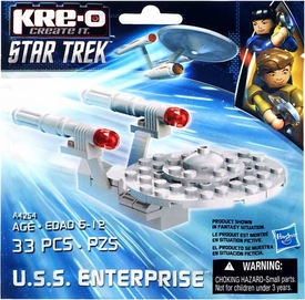 Kre-O Star Trek Exclusive Mini U.S.S. Enterprise [Bagged]
