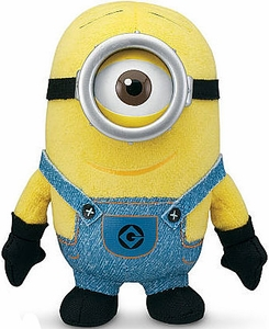 Despicable Me 2 Plush 5 Inch Figure Minion Stuart