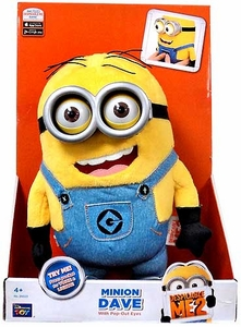Despicable Me 2 Electronic Plush Minion Dave [Pop-Out Eyes]