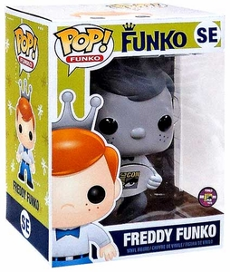 Funko POP! SDCC Comic-Con Exclusive 10 Inch Vinyl Figure Freddy Funko [Black & White] Only 240 Made!